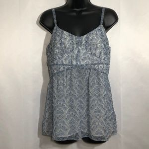 LOFT Sleeveless Summer Top